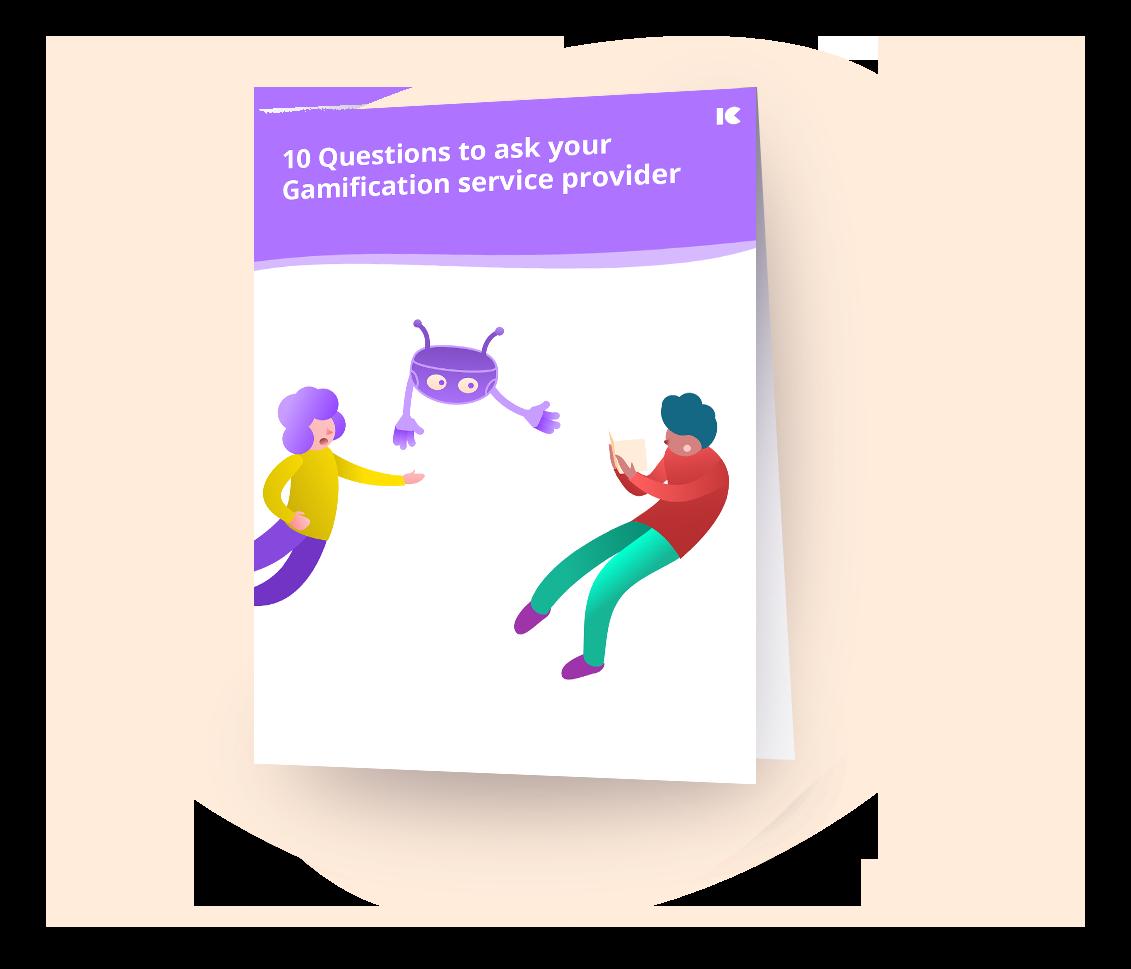 10 frågor att ställa till din leverantör av Gamification-tjänster