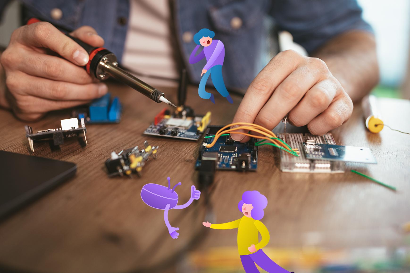 soldering-electronic-circuit-board-52QJNSA